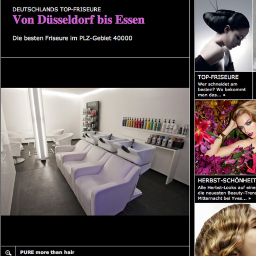 Pure Friseur Essen Presse